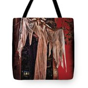 Hauntings Tote Bag by Joan  Minchak