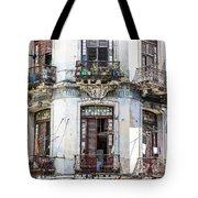 Havana Balconies Tote Bag