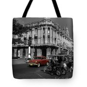 Havana Red Tote Bag