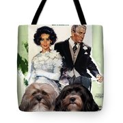 Havanese Art - Father Of The Bride Movie Poster Tote Bag