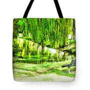 Have A Sit Down Tote Bag