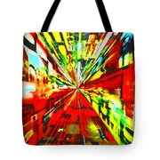 Have You Advertised In Hyperspace? Tote Bag