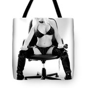 Have You Been Bad Tote Bag