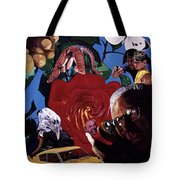 Have You Seen The Eyes Of The Octopus Tote Bag