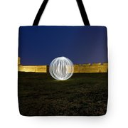Having A Ball At The Fort Tote Bag
