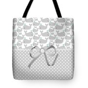 Having A Whale Of A Time Tote Bag by Debra  Miller