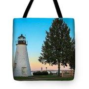 Concord Point Light ... Havre De Grace Md Tote Bag