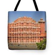 Hawa Mahal Palace Of Winds Tote Bag