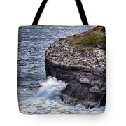Hawaii Big Island Coastline Tote Bag