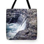 Hawaii Big Island Coastline V2 Tote Bag
