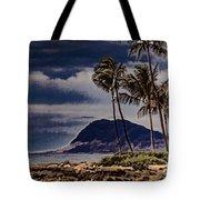 Hawaii Big Island Coastline V3 Tote Bag