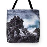 Hawaii Big Island Coastline V4 Tote Bag