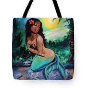 Hawaii Mermaid Tote Bag