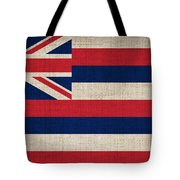Hawaii State Flag  Tote Bag