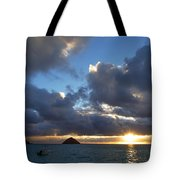 Hawaii Sunrise Tote Bag