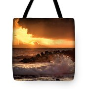 Hawaii Sunset V2 Tote Bag