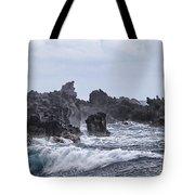 Hawaii Waves V1 Tote Bag