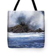 Hawaii Waves V3 Tote Bag