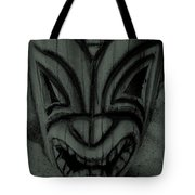 Hawaiian Charcoal Mask Tote Bag