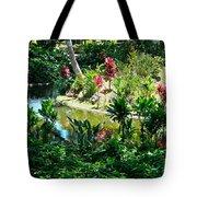 Hawaiian Cultural Garden Honolulu Airport Tote Bag