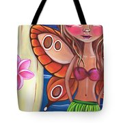 Hawaiian Fairy Tote Bag