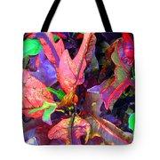 Hawaiian Foliage Tote Bag