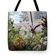 Hawaiian Garden Tote Bag