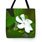 Hawaiian Gardenia Tote Bag