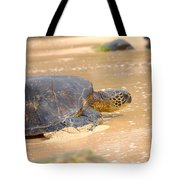 Hawaiian Green Sea Turtle 2 Tote Bag