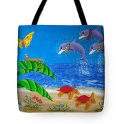 Hawaiian Lei Day Tote Bag
