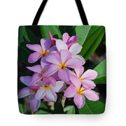 Hawaiian Lei Flower Tote Bag