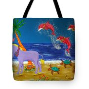 Hawaiian Lei Parade Tote Bag