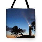 Hawaiian Lighthouse Tote Bag