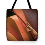 Hawaiian Lizard Tote Bag