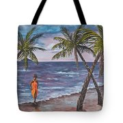 Hawaiian Maiden Tote Bag
