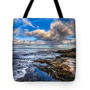 Hawaiian Morning Tote Bag