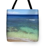 Hawaiian Ocean Tote Bag