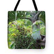 Hawaiian Palm Inflorescence  Tote Bag