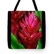 Hawaiian Red Torch Ginger Tote Bag