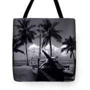 Hawaiian Sailing Canoe Maui Hawaii Tote Bag