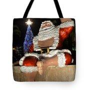 Hawaiian Santa Tote Bag