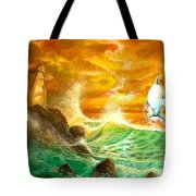Hawaiian Spirit Seascape Tote Bag