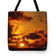 Hawaiian Sunrise Tote Bag