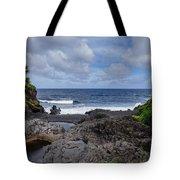 Hawaiian Surf Tote Bag
