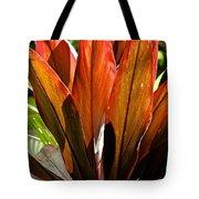 Hawaiian Ti Plant Tote Bag