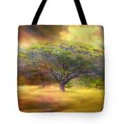 Hawaiian Tree Tote Bag