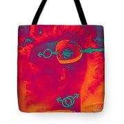 Hawk Cut Valentine 2012 Tote Bag by Feile Case