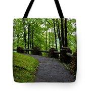 Hawk's Nest Path Tote Bag
