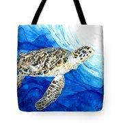 Hawksbill Sea Turtle 2 Tote Bag