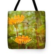 Hawkweed Wildflower Tote Bag